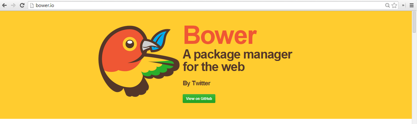 Using Bower Package Manager to Install Bootstrap on Windows 8
